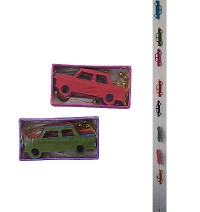 Car shapes Lokta paper decorative garland