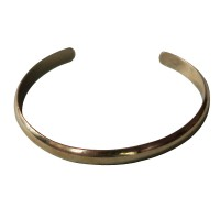 Brass slim bangle