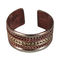 2-line braided finger ring
