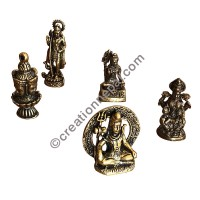 Hindu Gods tiny statues