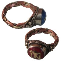 3-metal Om mantr finger ring3