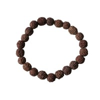Regular Rudraksha beads wristband
