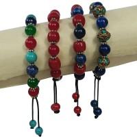 Multi stone beads assorted bracelet