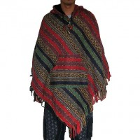 Gheri cotton regular style poncho2