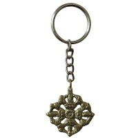 Double Dorje key ring