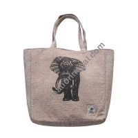 Hemp shopping bag