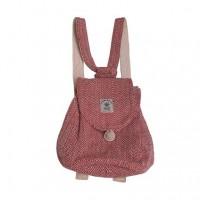 Hemp small size girls rucksack bag