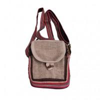 Hemp-cotton utility bag