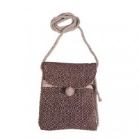 String strap hemp passport bag