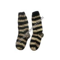 Woolen stripes socks