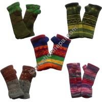 Assorted woolen hand warmer