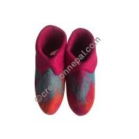 Felt kids indoor shoes3