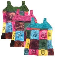 Crochet rib tank top