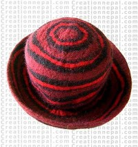 Felt hat stripe 6
