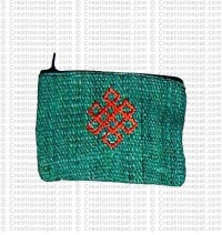 Hemp coin purse 1