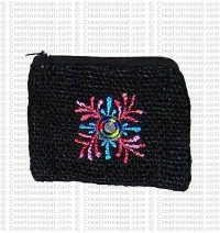 Hemp coin purse 2