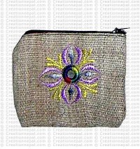 Hemp coin purse 4