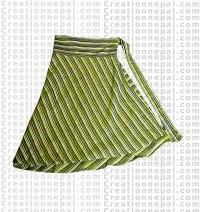 Cotton wrapper skirt 5