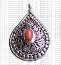 Siko silver pendant
