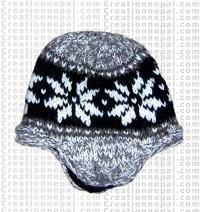 Woolen ear hat 2