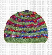 Woolen & Hemp mixed cap