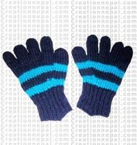 Woolen finger gloves 1