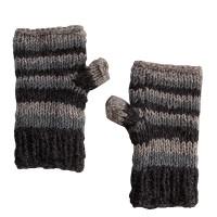 Woolen fingerless gloves