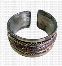 Rope finger ring