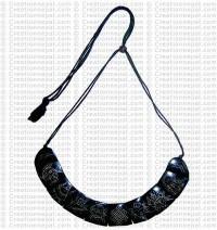 8 auspicious sign bone necklace 1