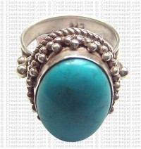 Turquoise finger ring 13