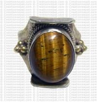 Tiger-eye Tibetan design fingering