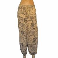 Om Mantra-Chakra prints cotton trouser