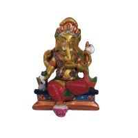 Super paint resin jewelled Ganesha