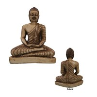 HK ivory color resin Buddha statue