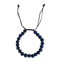 Lapis lazuli stone 8mm beads bracelet