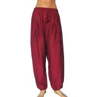 Maroon color khaddar front pockets trouser