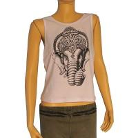 Ganesha print ladies sando vest