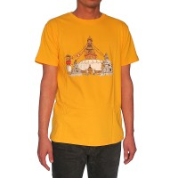 Stupa print cotton t-shirt