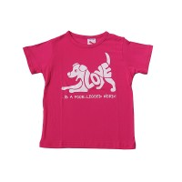 LOVE print cotton kids t-shirt
