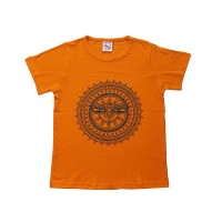 Buddha-Eye mandala print cotton kids t-shirt