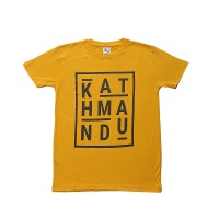 KATHMANDU print cotton t-shirt