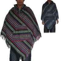 Gheri cotton regular style poncho1