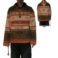Stripy shyama cotton mustard pullover