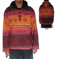 Stripy shyama cotton Maroon pullover
