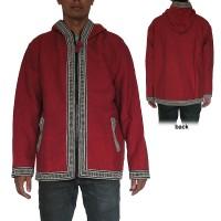 BW lace heavy cotton jacket