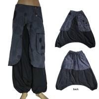 Elephant ear gray trouser