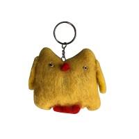 Owl design felt key ring2