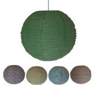 Printed medium ball lampshade