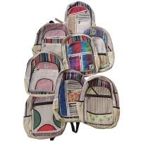 Hemp and cotton assorted bag