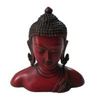 Large size half body resin Buddha